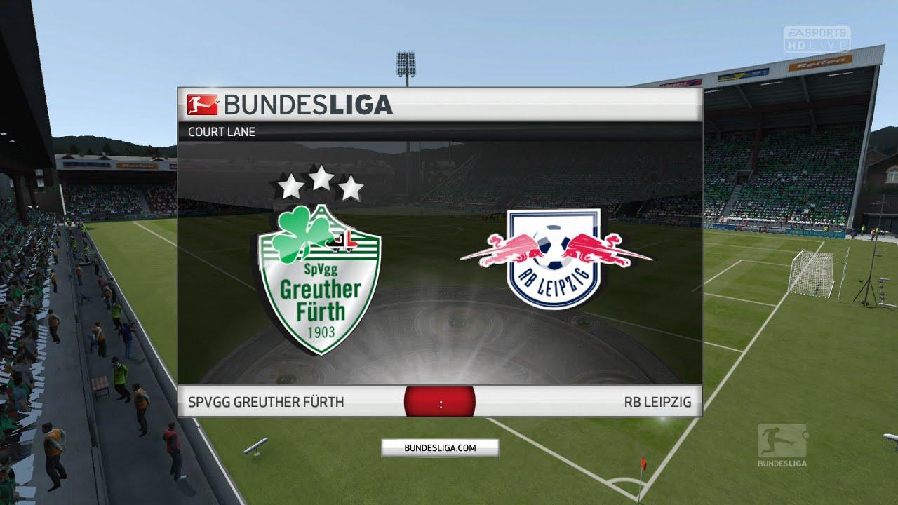 7 Spieltag 2 Bundesliga Greuther Fürth Vs Rb Leipzig Youtube