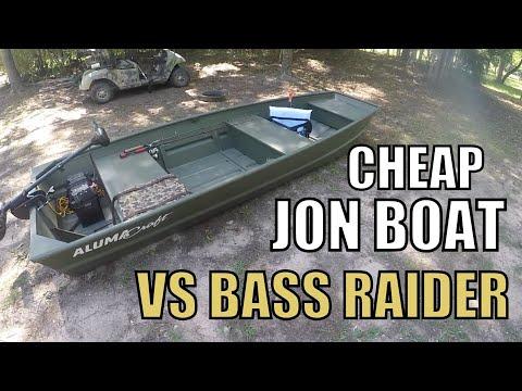 Cheap Jon Boat For Fishing VS Pelican Bass Raider / Sundolphin Sportsman