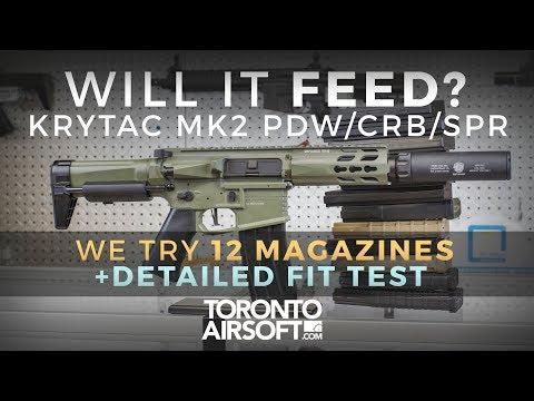 Will it feed? Krytac MK2 Series PDW CRB SPR - TorontoAirsoft.com