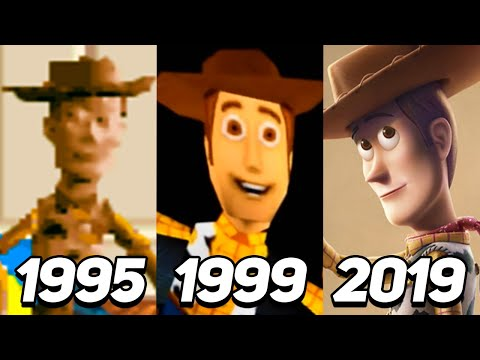 Evolution of Woody in Games 1995-2019