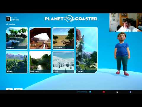 Planet Coaster - WOW THIS IS AN AWESOME WILD WEST PARK!!!