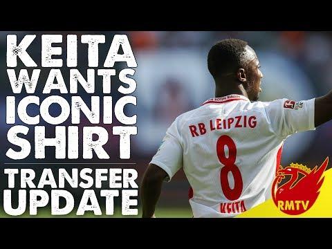 Keita Wants Iconic Liverpool Shirt | LFC Daily News LIVE