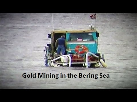 Nome, Alaska Goldmines August 2015, https://youtu.be/Z4PALDvE0zI; 4:34 min.