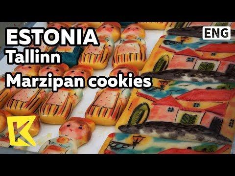 【K】Estonia Travel-Tallinn[에스토니아 여행-탈린]마지팬 과자/Marzipan/Maiasmokk Café/Cookies/Painting/Artisan