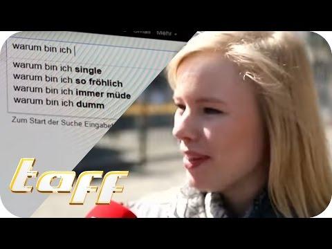 Die DÜMMSTE GOOGLE SUCHE: Warum bin ich...? | taff | ProSieben