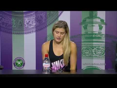 Eugenie Bouchard Quarter-Final Press Conference