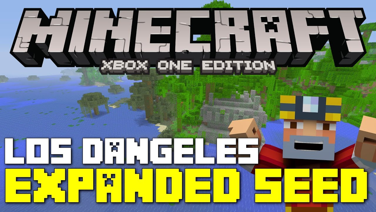Minecraft Xbox One Edition Los Dangeles Expanded Seed