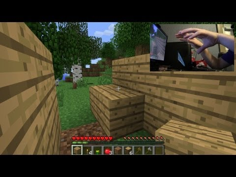 Playing Minecraft With my Leap Motion Part II: GAMEWAVE