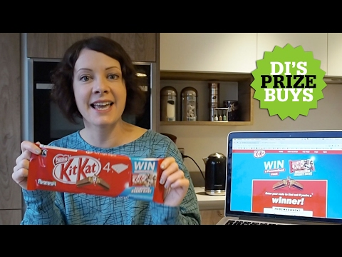 Di's Prize Buys: Win 1000 personalised KitKats every day!
