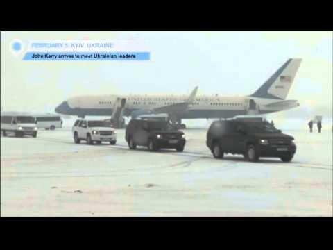 John Kerry Arrives in Kyiv to Meet Ukraine Leaders: American arms for Ukraine high on agenda