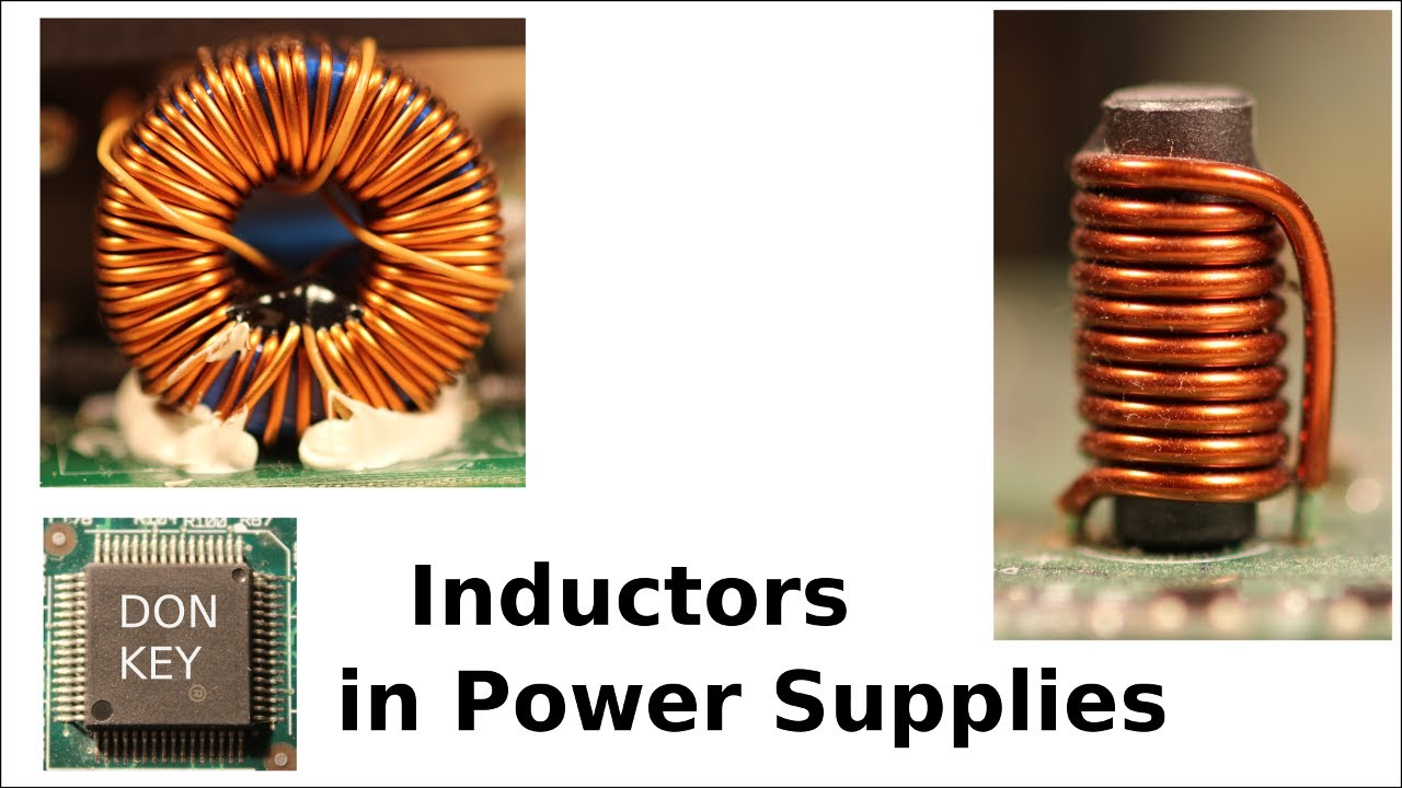 Howto repair switch mode power supplies #3: Inductor in electronic circuits P1