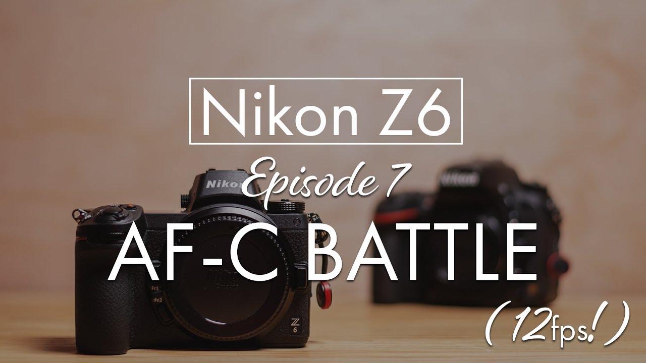 Z6 vs D750 AF Burst Battle (ACTUAL HIT RATES)