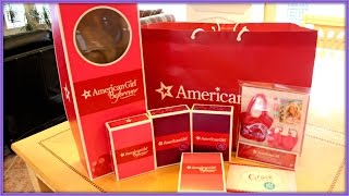opening huge american girl doll haul from agp seattle