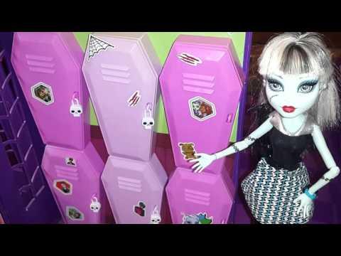 Видео с куклами Монстер Хай. Экскурсия по Школе Монстров (Часть 2). Monster High
