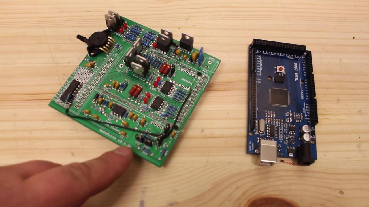 Speeduino 0.3.7 PCB À faire soi-même Arduino Ecu bouclier autonome de gestion du moteur