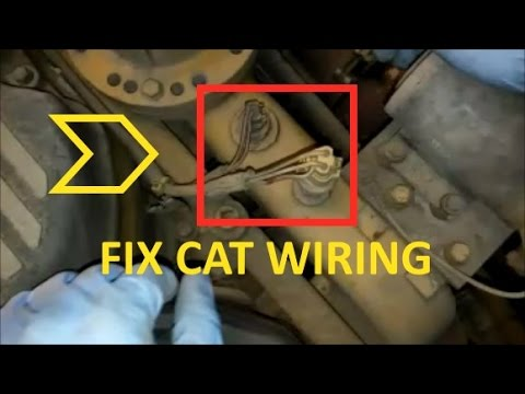 hqdefault how to fix cat wiring and connectors install deutsch and ampseal cat c15 injector wiring harness at readyjetset.co