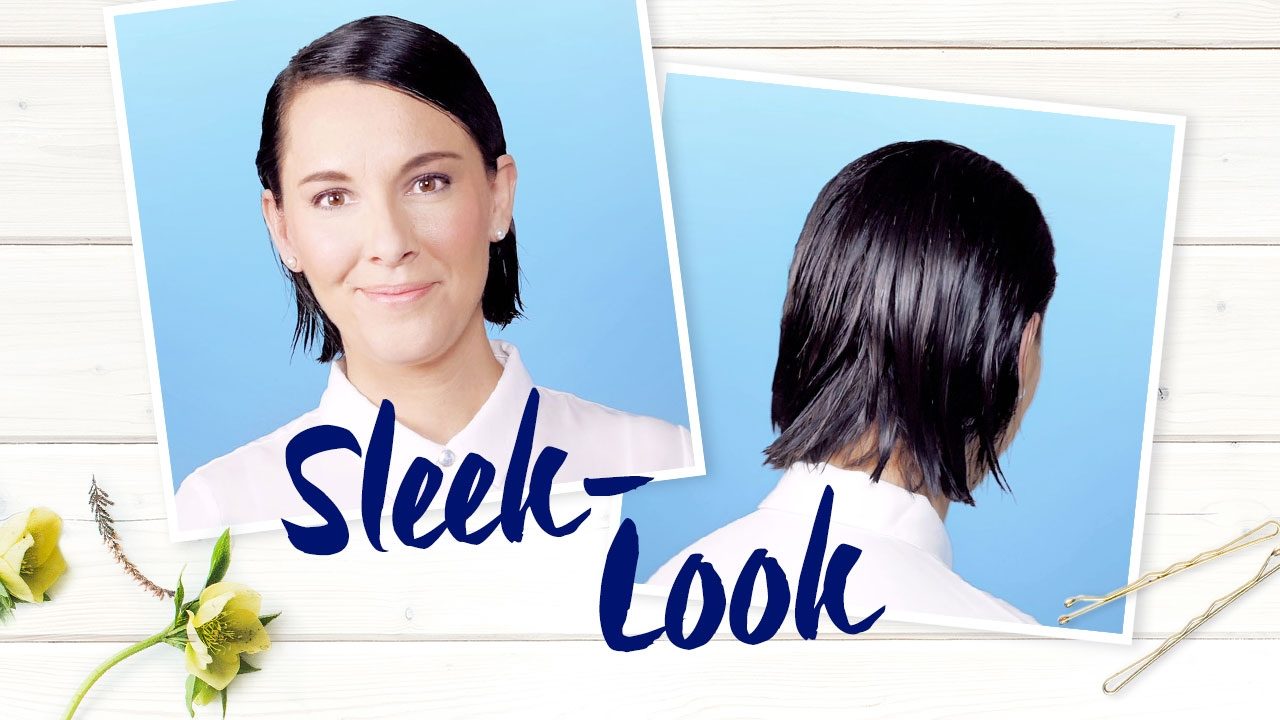 Sleek Look Nivea Frisuren Tutorial