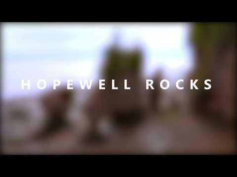 Hopewell Rocks - Canada In 4K