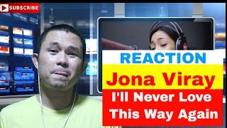 "Jona performs ""I'll Never Love This Way Again"" LIVE on Wish 107.5 Bus - REACTION!!!"