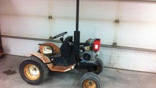 10hp Diesel Roper Garden Tractor ***build Part 3***