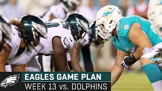 Dissecting the Dolphins Matchup: Episode 13 | Eagles Game Plan (Week 13, 2019)