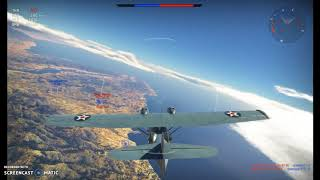 Bombing raid in War Thunder