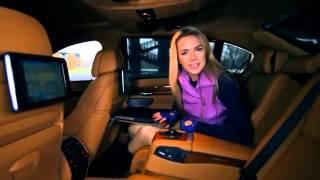 BMW 760 Li Тест драйв в программе Москва рулит