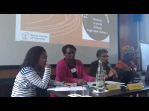 WCC-PAWEEN Panel 4: Pan African Women addressing contemporary wounds and preparing the future