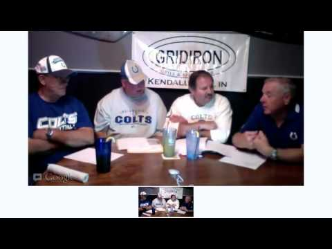 8-19-12 KTV Sports Talk Fred Inniger and Steve Kramer Colts Preview