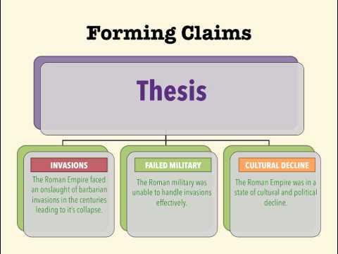 Standard DBQs - Step 4: Write Your Claim Sentences