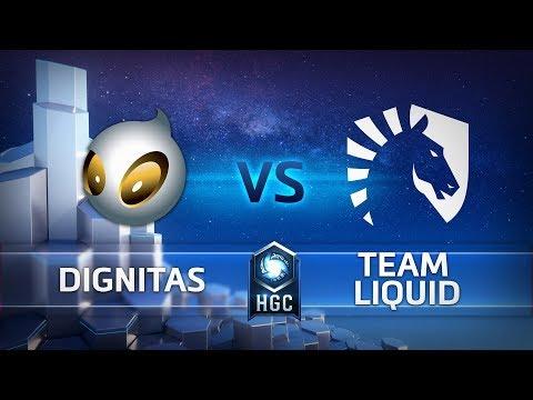 HGC EU - Phase 2 Part 2 - Game 3 – Team Dignitas v Team Liquid
