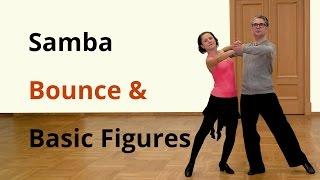 Samba Bounce Exercise And Basic Figures / Latin Dance