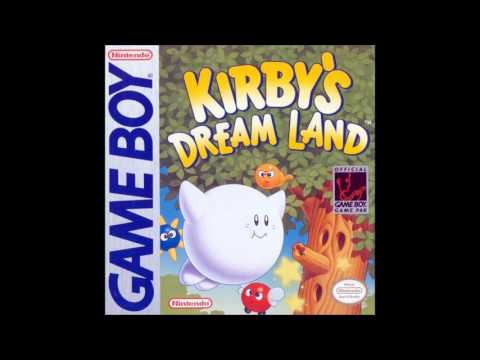 (harsh sound) Kirby's Dream Land
