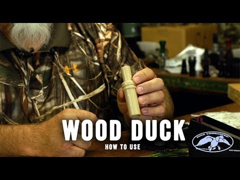Duck Commander Wood Duck Call How-to Video