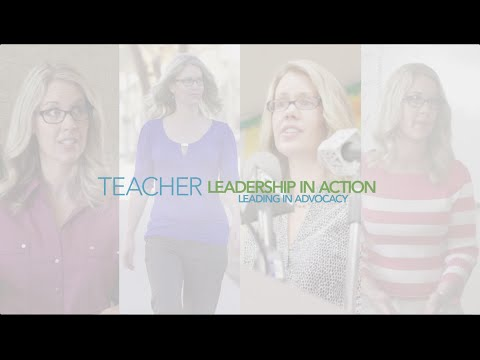 Teacher Leadership In Action: Leading in Advocacy