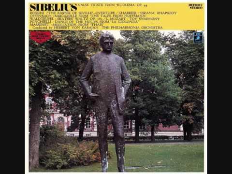 カラヤン指揮 シャブリエ作曲 狂詩曲「スペイン」