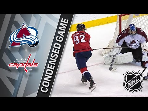 12/12/17 Condensed Game: Avalanche @ Capitals