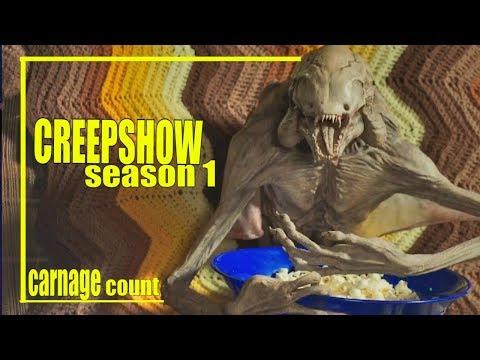 Creepshow Season 1 (2019) Carnage Count