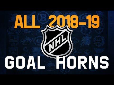 All NHL Goal Horns (2018-19)