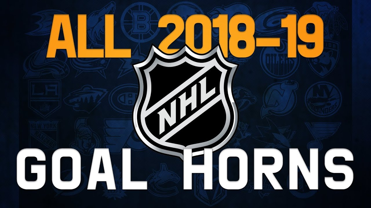 All NHL Goal Horns (2018-19) - YouTube