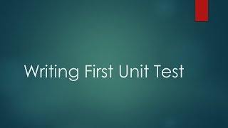 Writing our first Unit Test using NUnit and NSubstitute