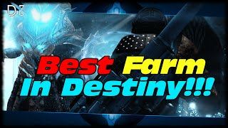 Best Farm In Destiny! Destiny How To Farm Legendaries, Weapon Parts & Armor Materials!