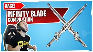 5 MINUTES OF STREAMERS DYING & RAGING TO INFINITY BLADE! HAMLINZ, MONGRAAL, CLOAKZY & MORE!