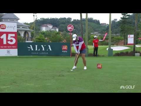 Shanshan Feng Final RD Highlights at the 2016 Sime Darby LPGA Malaysia
