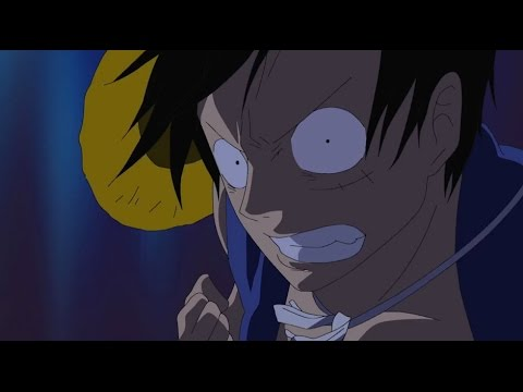 Luffy Punches A Celestial Dragon [HD] [One Piece]