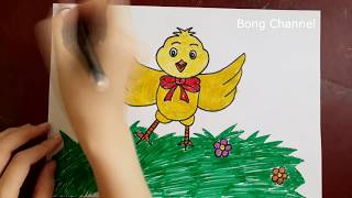 Learn Drawing For Children   Drawing Lessons For Kids   How to Draw Animals   Bong Channel