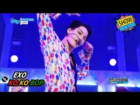 [Comeback Stage] EXO - Ko Ko Bop, 엑소 - 코코밥 Show Music core 20170722