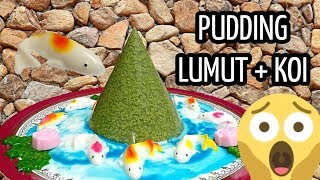 PUDDING LUMUT + IKAN KOI = MANTAP!! - Resep Mommies