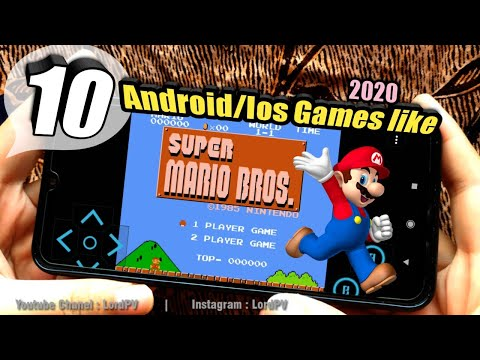 TOP 10 GAMES LIKE MARIO BROS 2020   Android Ios