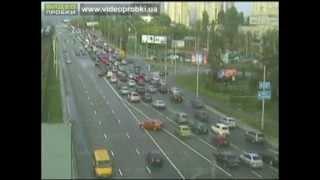 Самые громкие ДТП с уличных вебкамер Киева (часть 1)